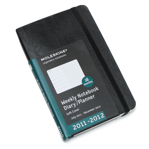 Moleskine 18-Month Pocket Soft Cover Weekly Planner on EPC
