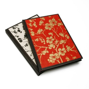 Cherry Blossoms Large Lokta Journal (5.875 x 8.25)