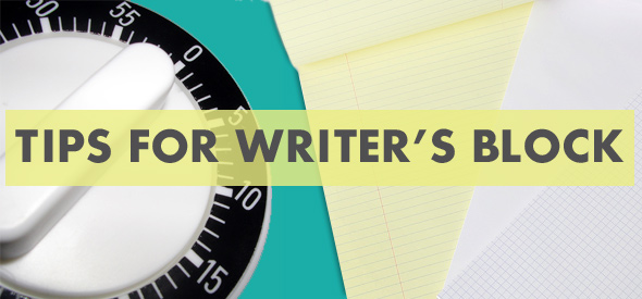 Tips for Writer's Block by Maggie Marton on EuropeanPaper.com